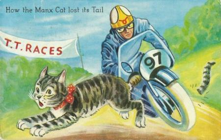 Carte postale Manx